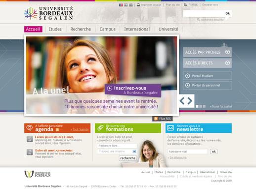 Accueil Université de Bordeaux 2
