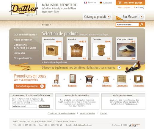 Page accueil Dattler