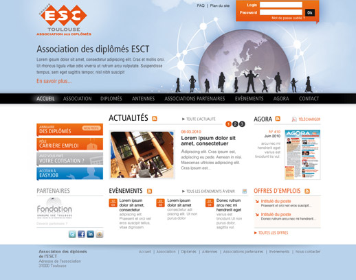 Proposition page d'acceuil ESCT V02