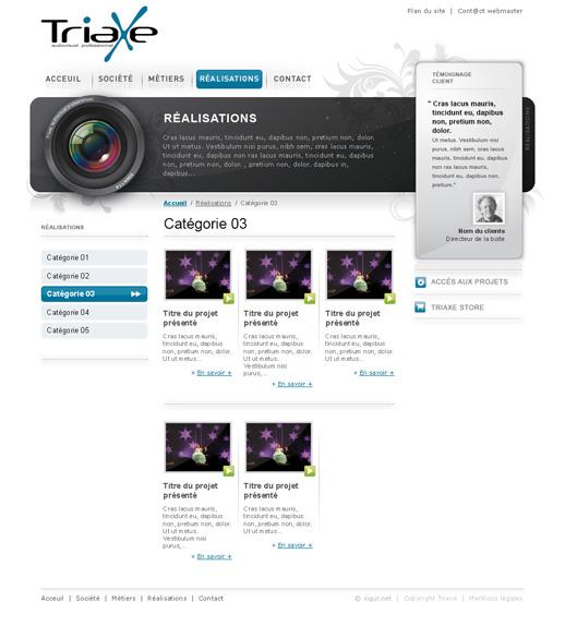 Page références Triaxe